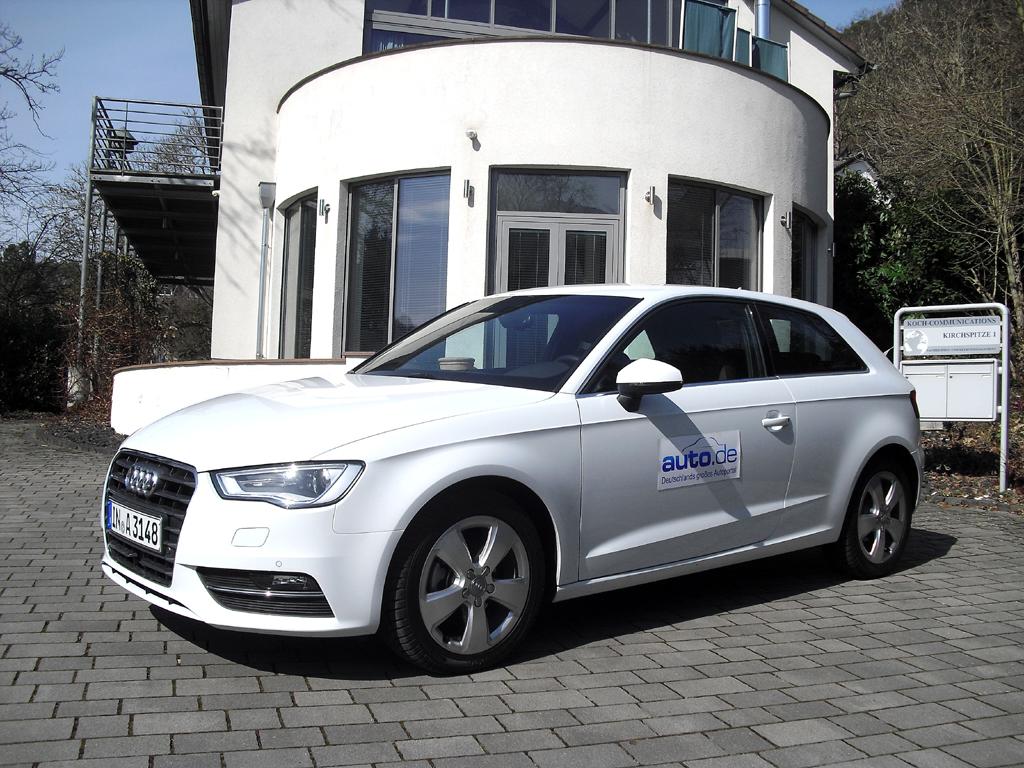 Audi A3, hier als Quattro-Ambition-Diesel mit 110/150 kW/PS. Fotos: Koch