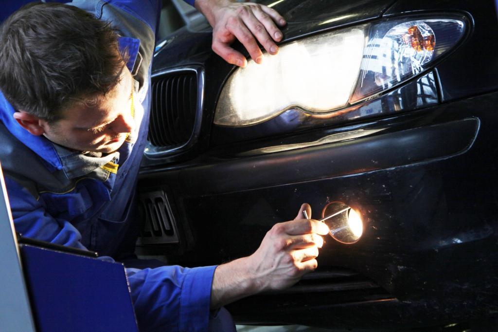 Auto-Werterhalt in Eigenregie - Geschickt getupft ist halb entrostet