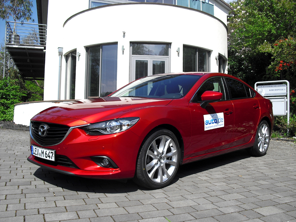 Auto im Alltag: Mazda6