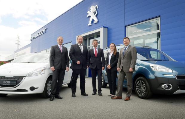 BASF ordert über 700 Peugeot