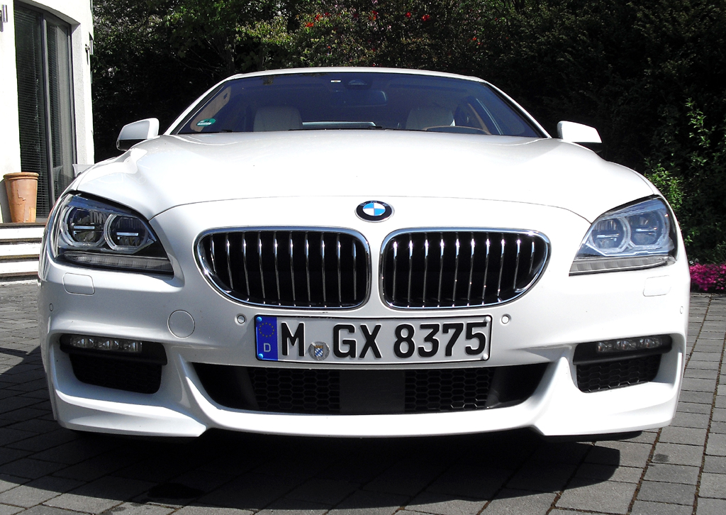 BMW 6er Gran Coupé: Blick auf die Frontpartie.