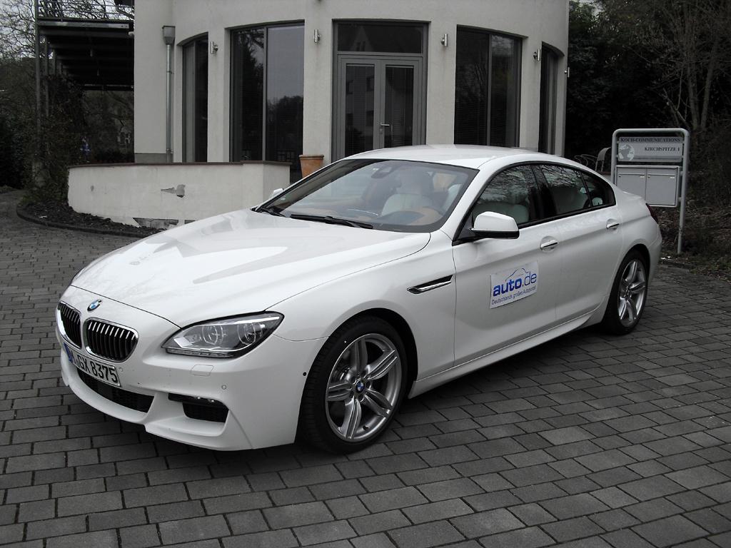 BMW 6er Gran Coupé, hier als Diesel 640d mit 230/313 kW/PS. Fotos: Koch