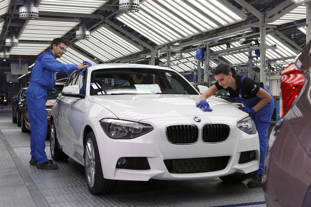BMW-Werk Leipzig ist