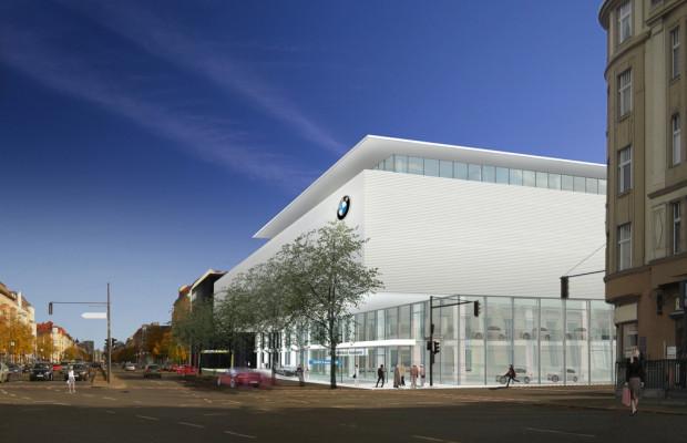 BMW feiert Richtfest der Berliner Niederlassung