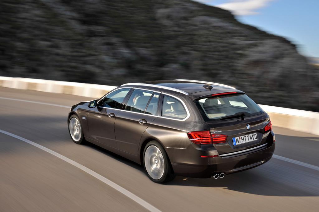 BMW frischt den 5er auf