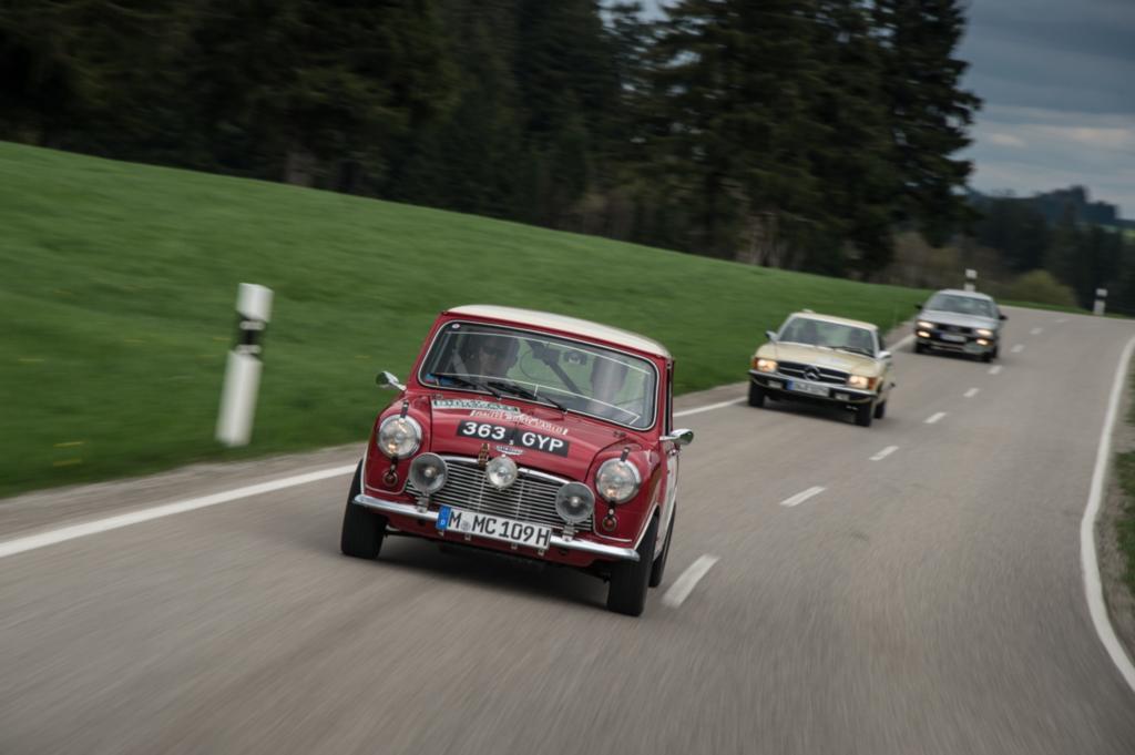 Bei der Bodensee Klassik wird Automobilgeschichte lebendig