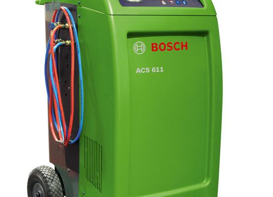Bosch bietet Klimaservice-Geräte für Werkstätten
