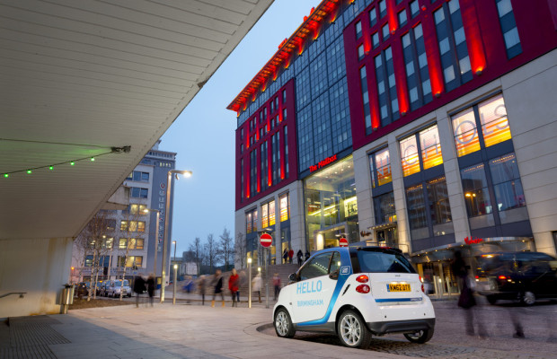 Car2go in Birmingham