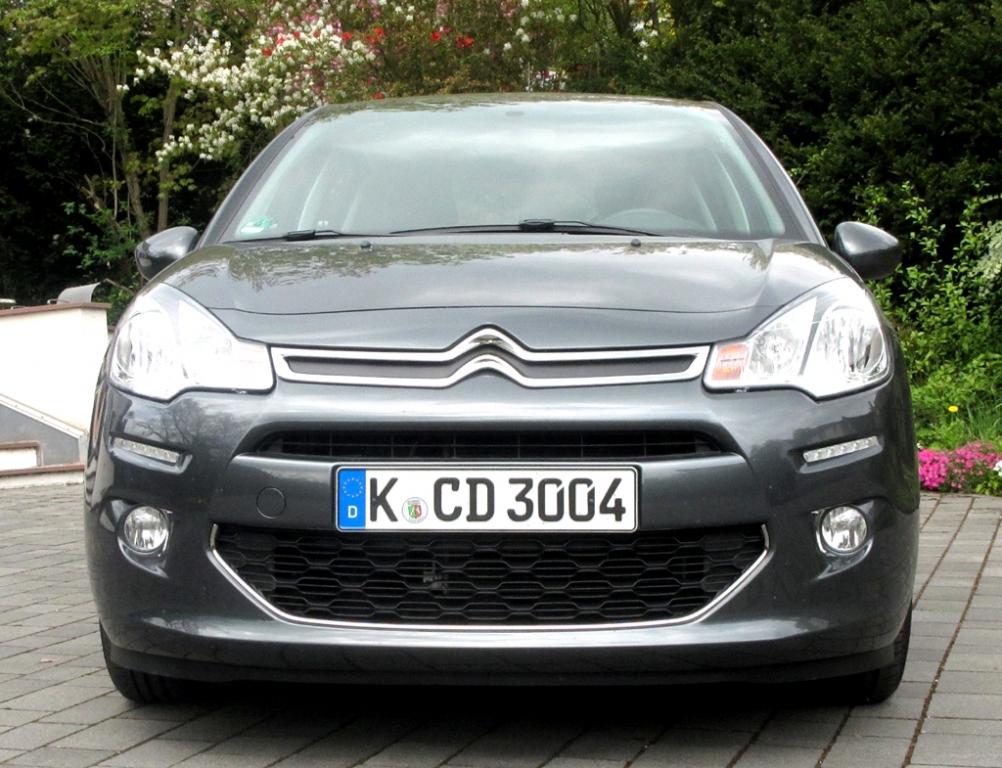 Citroën C3: Blick auf die Frontpartie.