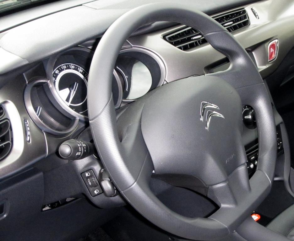 Citroën C3: Blick ins Cockpit.