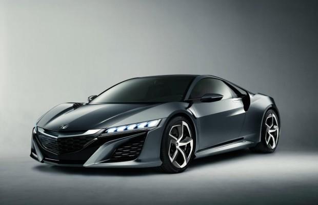 Das neue NSX-Supercar von Honda startet 2015