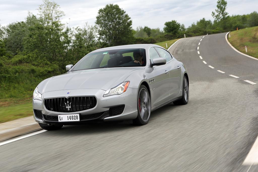 Den Maserati Quattroporte gibt es nun auch mit Allradantrieb und V6-Turbo
