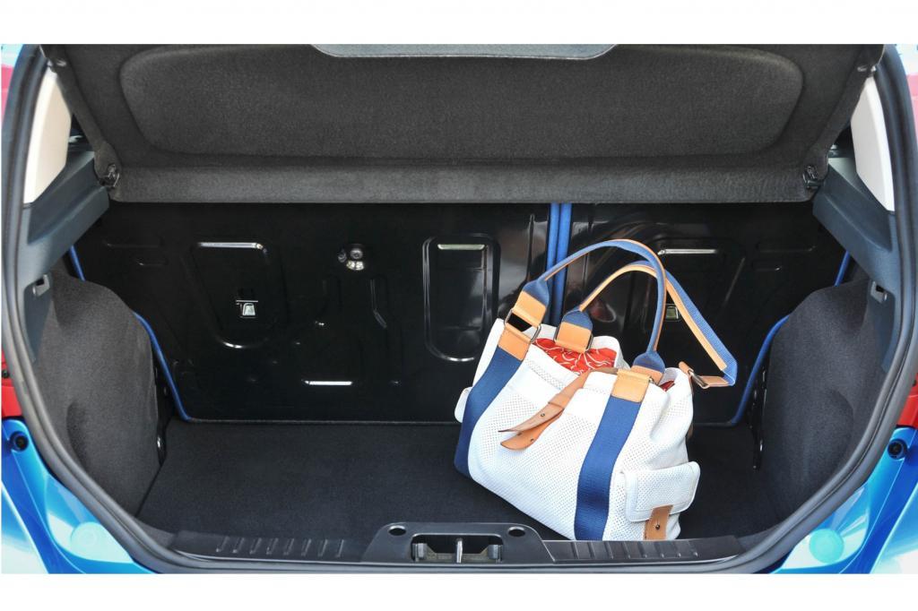 Der Kofferraum des seit 2008 gebauten Fiesta hat ordentlich Platz