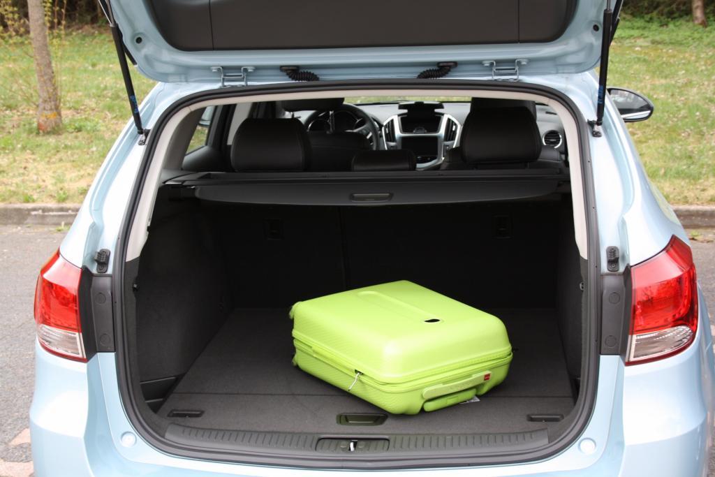 Der Kombi bietet bereits in der Grundstellung ein Kofferraumvolumen von 500 Litern