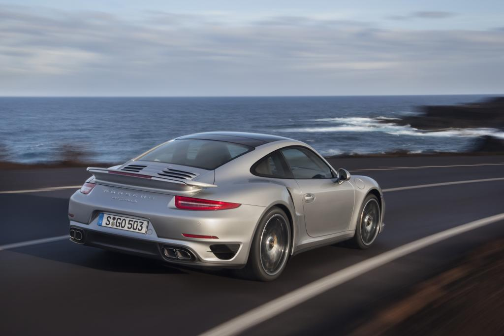 Der Porsche 911 Turbo erhält eine Allradlenkung