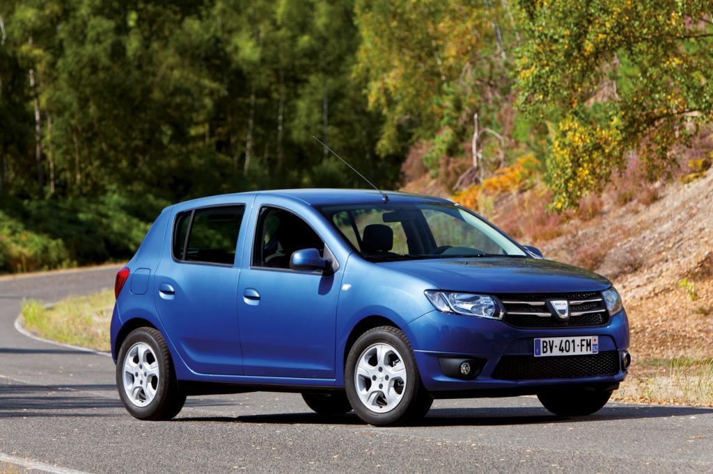 Der günstige Kleinwagen Dacia Sandero erhielt immerhin noch vier Sterne