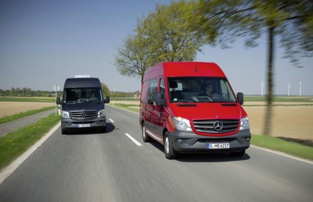 Der neue Mercedes-Benz Sprinter: Sicher und genügsam