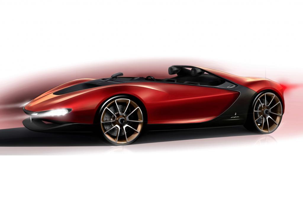 Die Designschmiede hat einmal mehr bewiesen, dass sie die Kunst der Zeichnung formschöner Supersportwagen beherrscht
