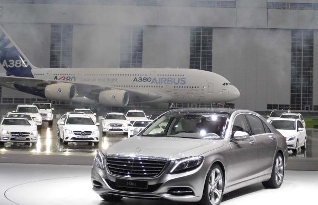 Die First Class: Mercedes startet mit S-Klasse neue Luxusoffensive