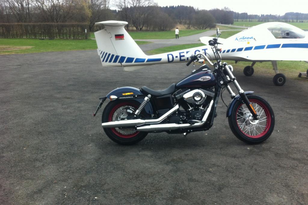 Die Harley-Davidson Dyna Street Bob in ihrer Special Edition