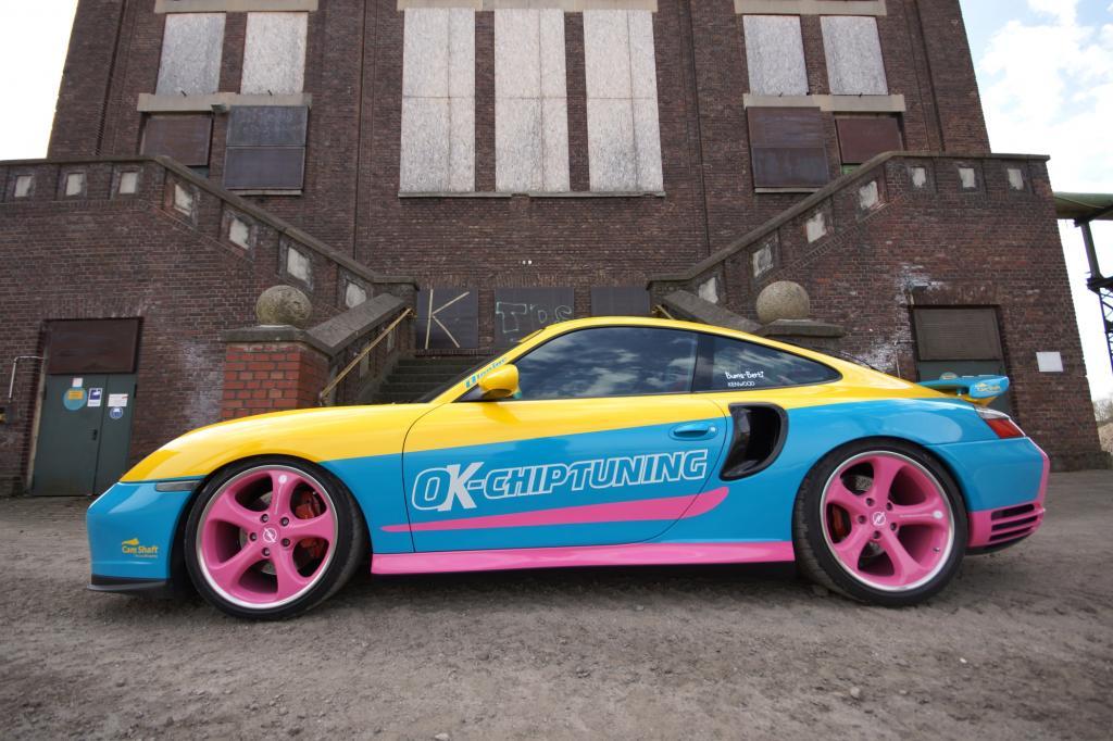 Dieser Porsche 911 macht auf Opel Manta