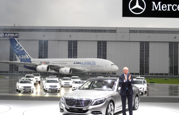 Donner inklusive: Hinter den Kulissen der Mercedes-S-Klasse-Weltpremiere