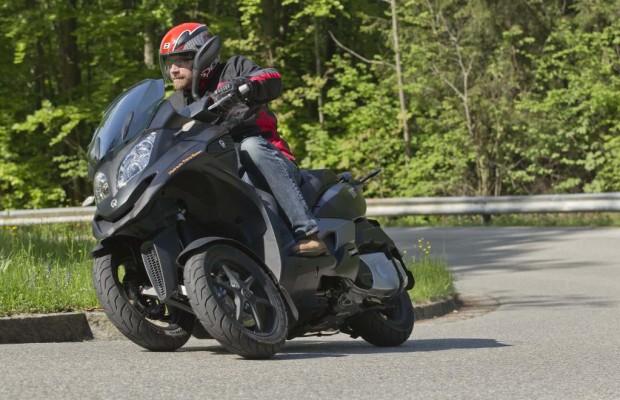 Dreirad-Roller kostenlos Probe fahren
