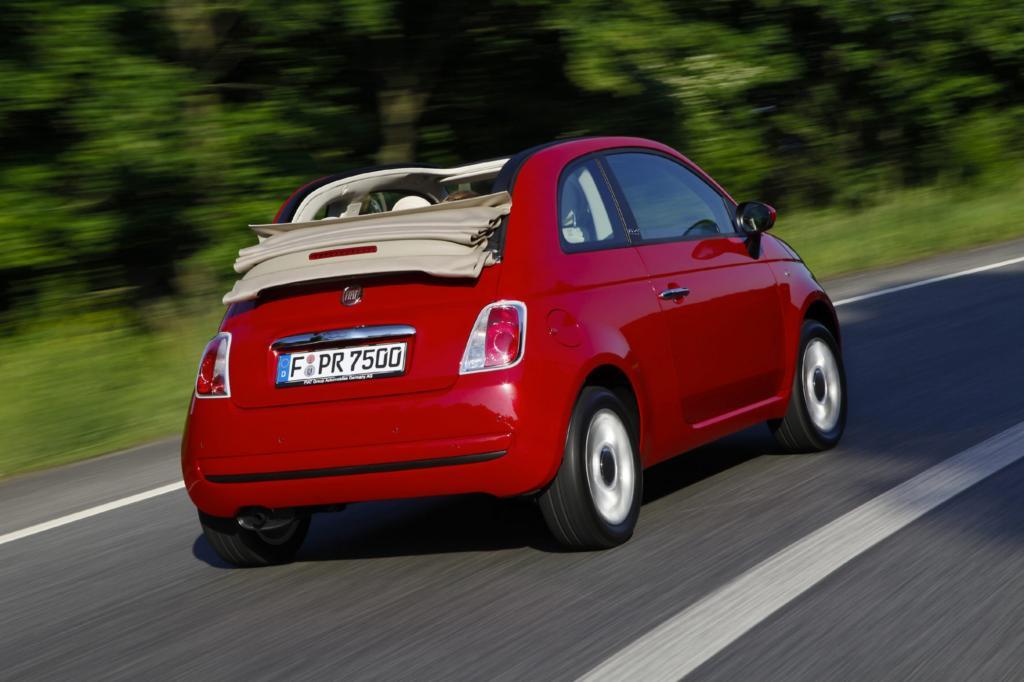 Ein Stück italienischen Charme bietet der Fiat 500 C