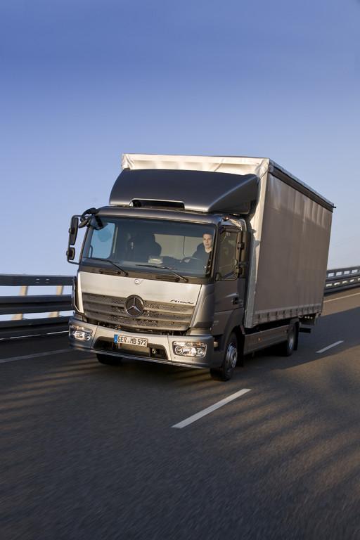 Einsatzspezifische Versicherung für Mercedes-Benz Atego