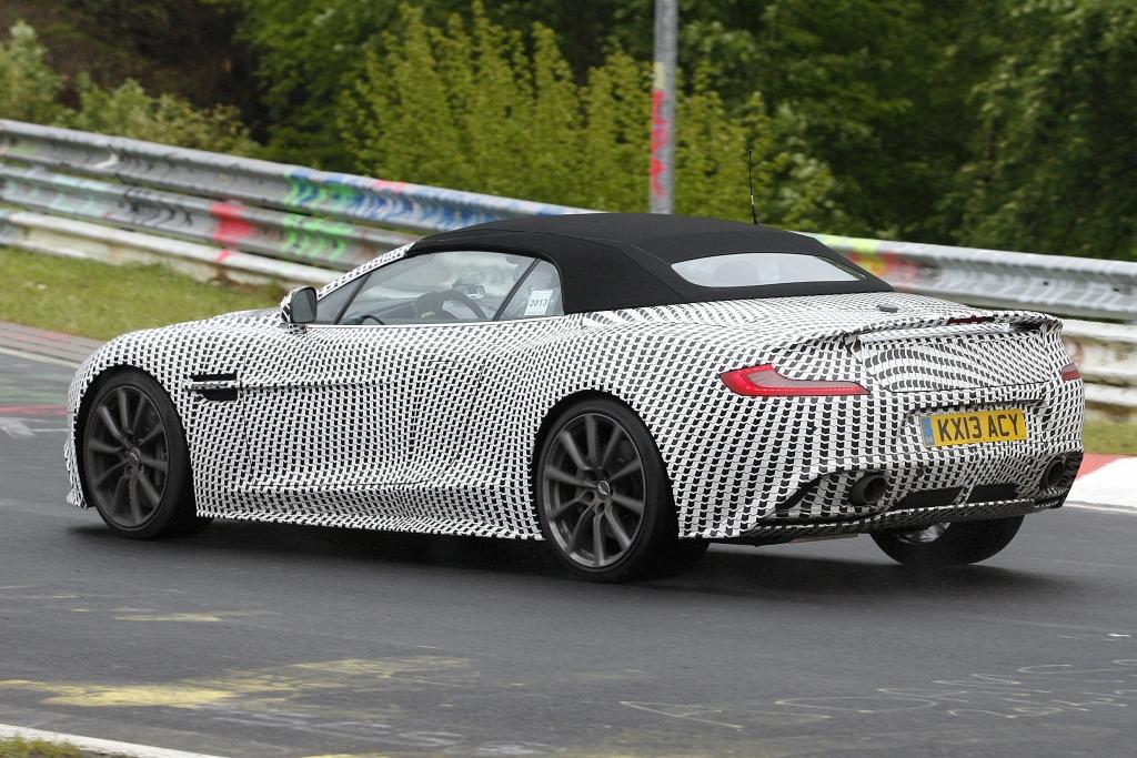 Erwischt: Erlkönig Aston Martin Vanquish Volante  – Schönheit oben ohne