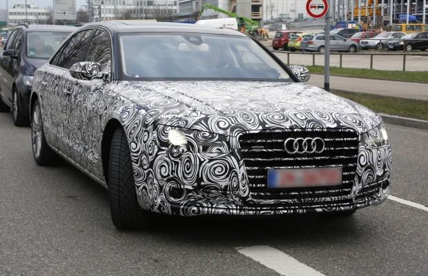 Erwischt: Erlkönig Audi A8 Facelift – Heimkehr des Flaggschiffs