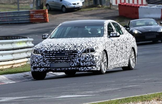Erwischt: Erlkönig Hyundai Genesis – Härtetest auf der Nordschleife