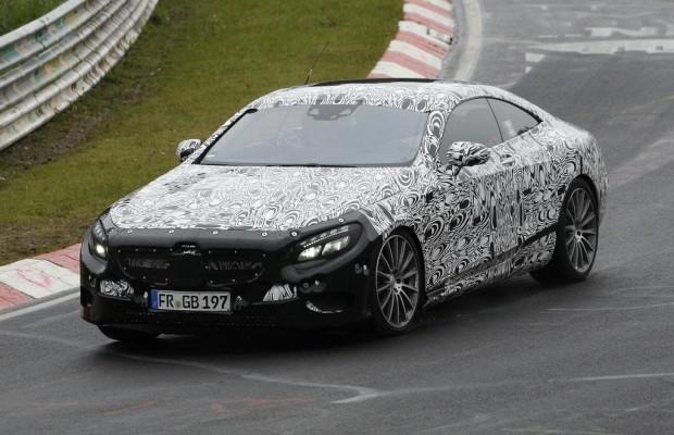 Erwischt: Erlkönig Mercedes S-Klasse Coupé – Luxus mit Stern