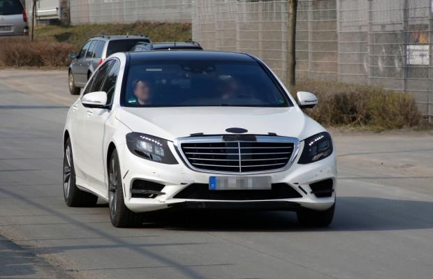 Erwischt: Erlkönig Mercedes S-Klasse – Fahren wie von Geisterhand