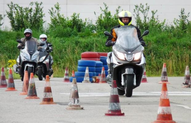 Fahrertraining für Scooter-Piloten