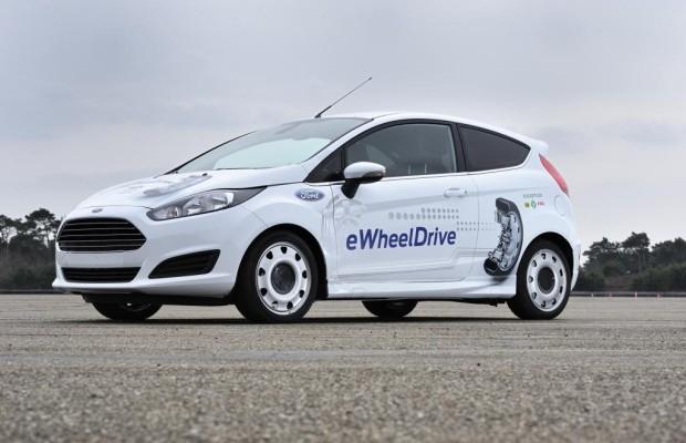 Ford eWheel-Drive - PS mit Profil