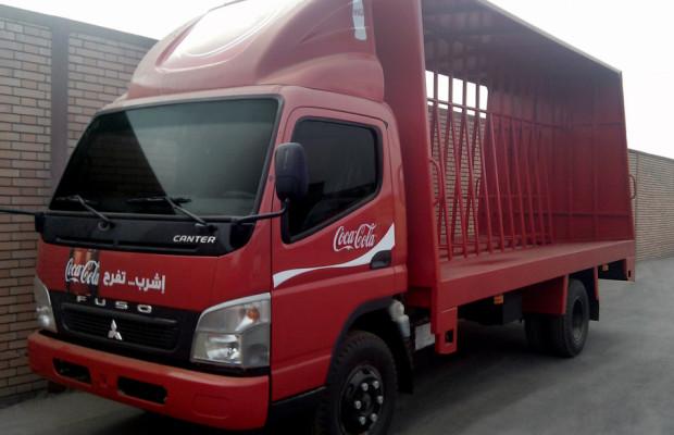Fuso liefert 140 Canter an Coca-Cola in Ägypten