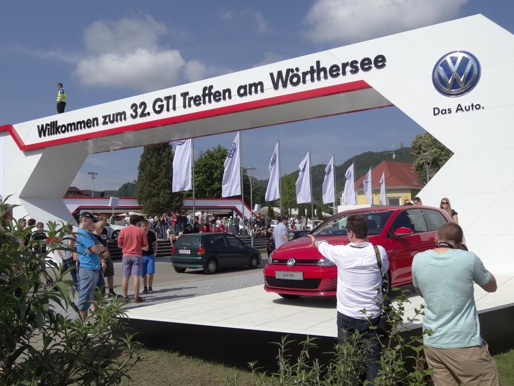 GTI-Treffen 2013: Wieder ein unendlicher Autocorso
