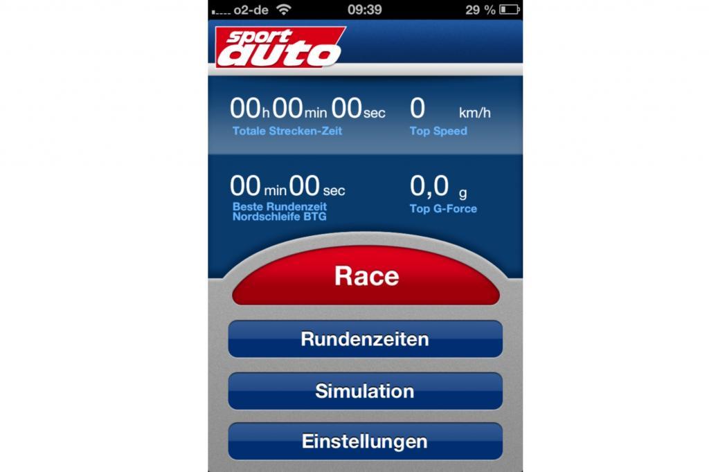 Geschwindigkeitsrausch mit Ansage: die Track Trainer App