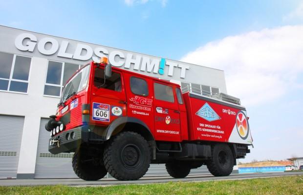 Goldschmitt rüstet Expeditionsfahrzeug aus