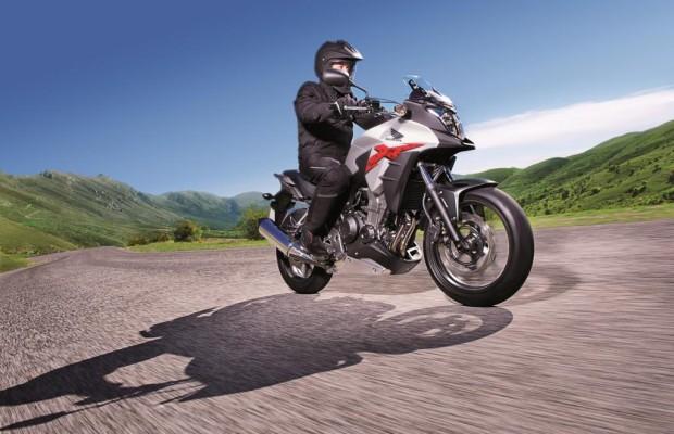 Honda CB 500X - Erhöhter Aufstieg