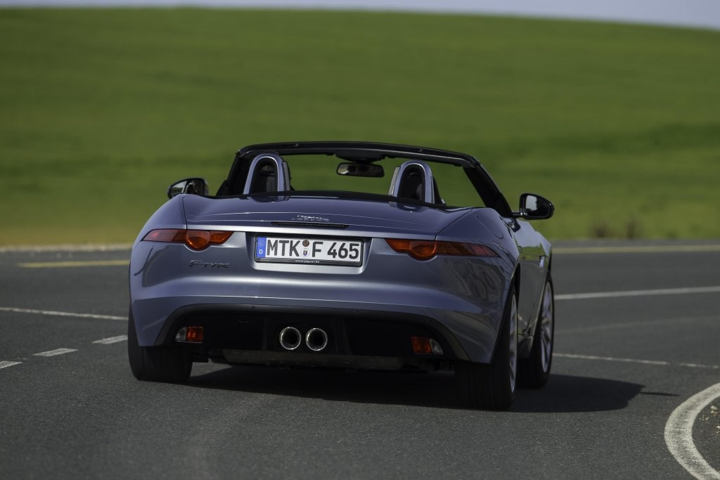 Jaguar F-Type Die Roadster-Legende