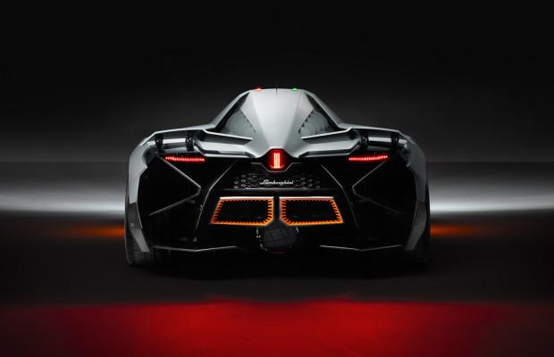 Lamborghini Egoista: Ein Flugzeug auf vier Rädern