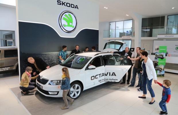 Markteinführung des Skoda Octavia Combi