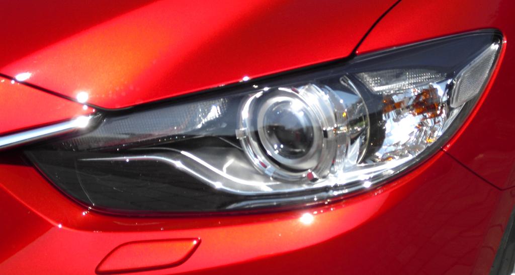 Mazda6: Moderne Leuchteinheit vorn.