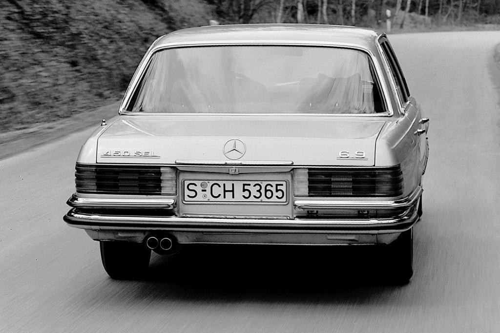 Mercedes Benz  S-Klasse W116 Typ 450 SEL 6.9 ab 1975
