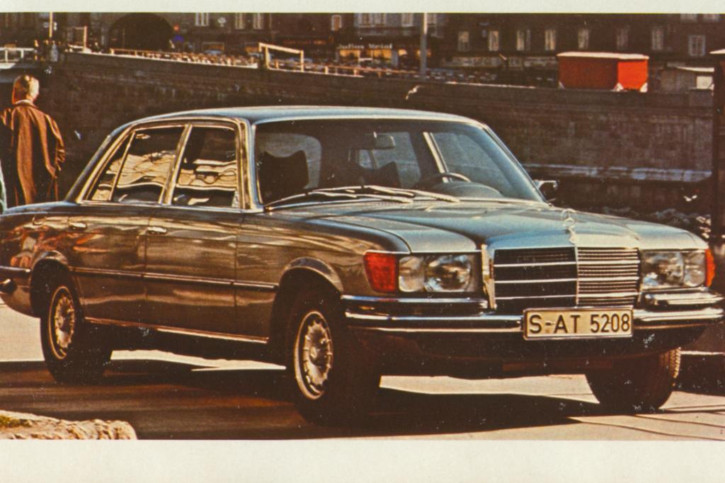Mercedes Benz S-Klasse W116 Typ 450 SEL ab 1976