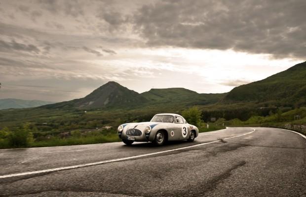 Mercedes-Benz ist Hauptsponsor der Mille Miglia