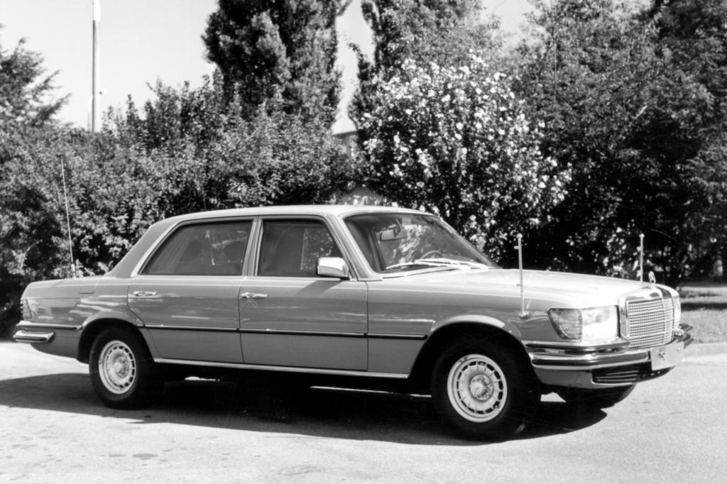 Mercedes S-Klasse W116 Sonderschutzausführung 1974