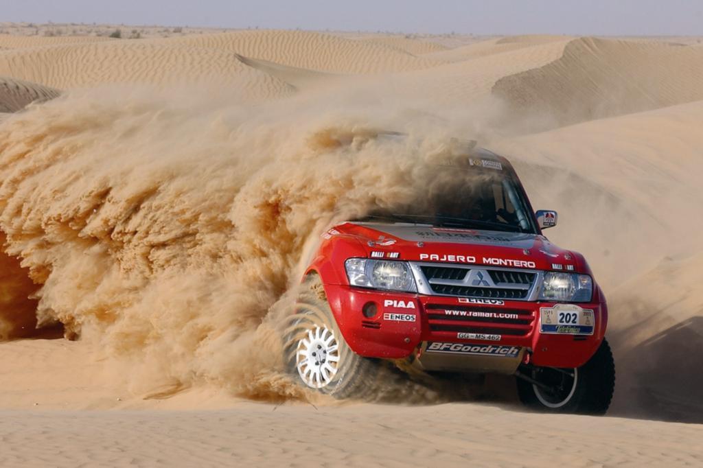 Mitsubishi Pajero Rallye Paris Dakar